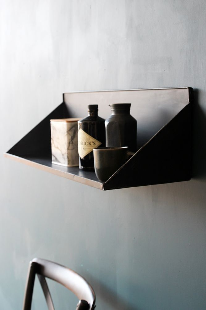 Large Wall Mounted Metal Display Shelf - View All - Furniture