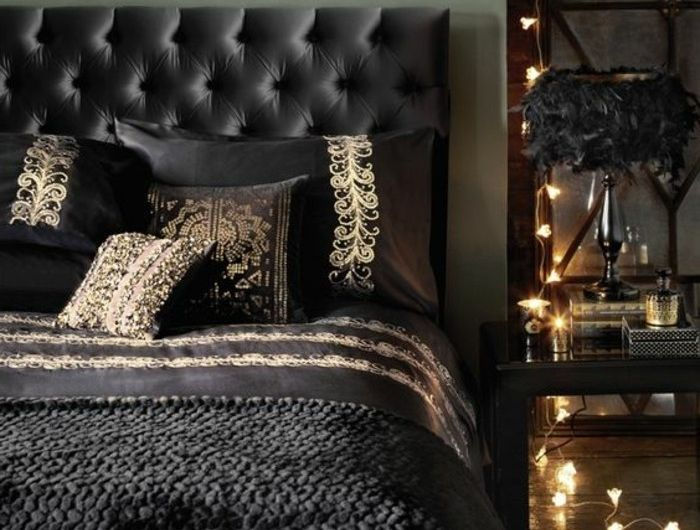 Die besten 25+ schwarze Schlafzimmer Ideen auf Pinterest - schlafzimmer schwarz