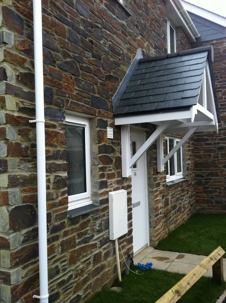 St Agnes new build. Walling #stone