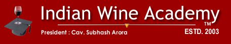 India's First Wine, Food and Hospitality Website. check out their e-newsletters. www.indianwineacademy.com
