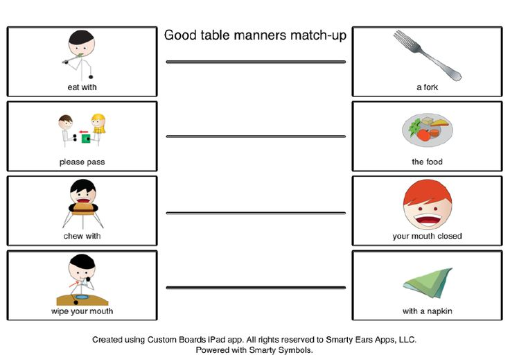 Good Table Manners during the holidays---FREEBIE (a social skills activity) AND a GIVEAWAY for SOCIAL QUEST app by Smarty Ears!  Is it on your list to Santa this year??
