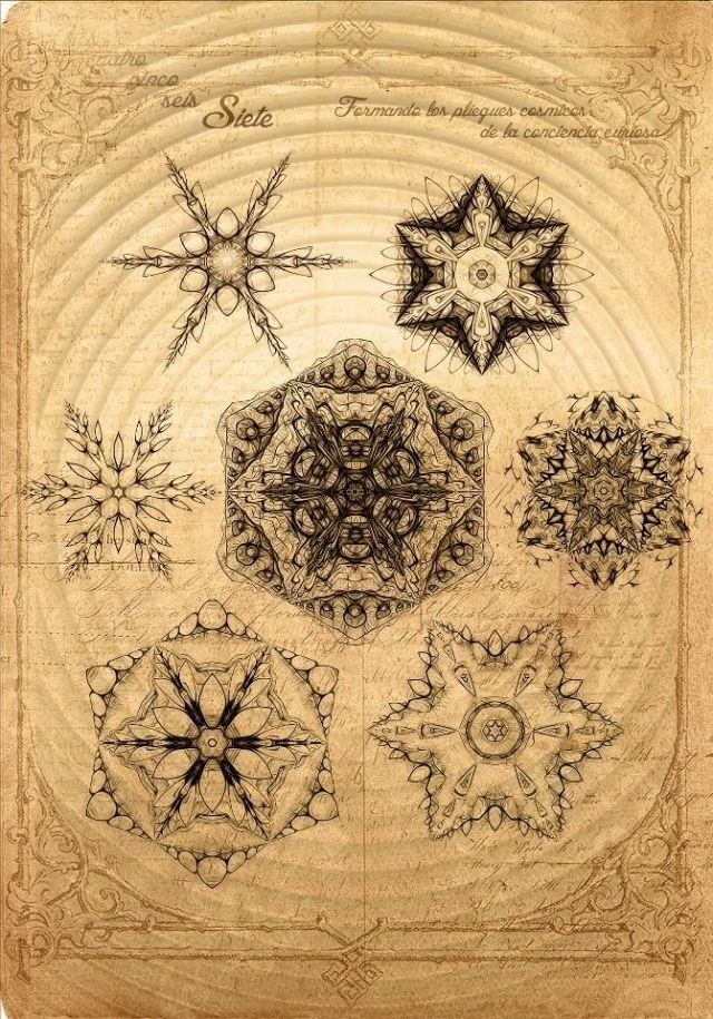 Mandalas / Sacred Geometry <3