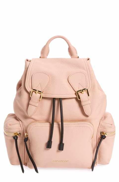 Burberry Medium Rucksack Deerskin Backpack