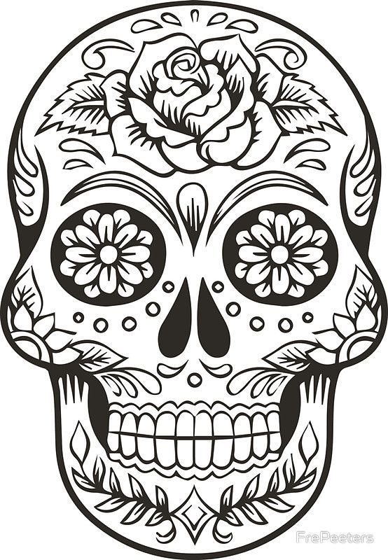 Image Result For Sugar Skull Tattoo Placement On Women