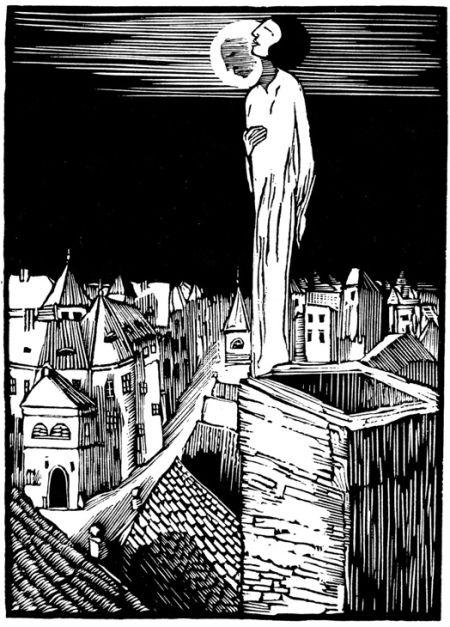 Josef Váchal: 'The Sleepwalker'