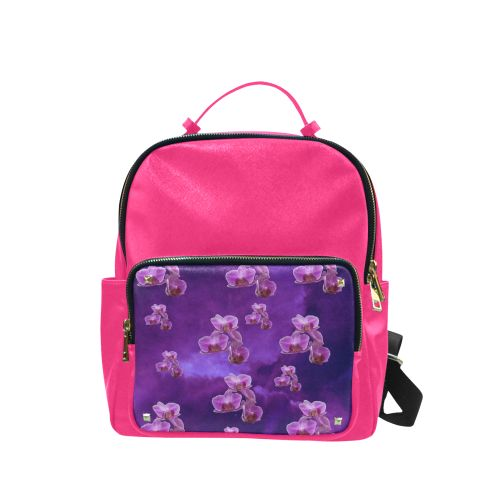 Purple Orchids Campus backpack/Large. FREE Shipping. FREE Returns. #lbackpacks #flowers