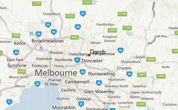 Darch Location Map
