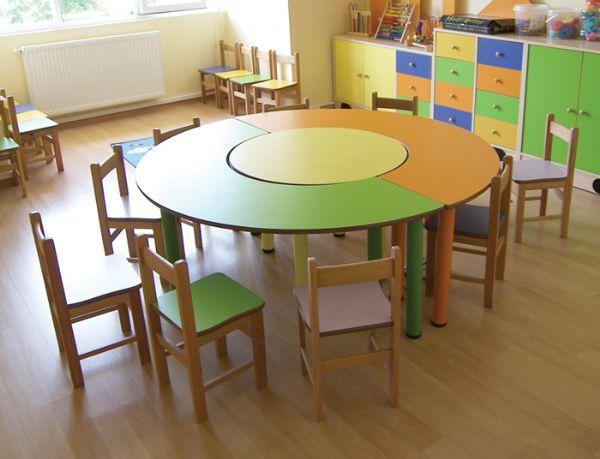 Yuvarlak Anasınıfı Masası  Yuvarlak anasınıfı masası 150 çap mdf 3 parça tüm kenarları ovalleştirilmiştir Firmamız üretimidir Stokta yoksa üretim için gün verilir. Genel  Bilgiler  Yuvarlak Anasınıfı Masası ürünü  anaokulu malzemeleri eğitim araçları  toptan fiyatına satıyoruz.  Yuvarlak Anasınıfı Masası ürünü anaokulu ihtiyaç listesinde önemli bir yere sahiptir. Yuvarlak Anasınıfı Masası anaokulu mobilyaları ve kreş malzemeleri toptancıları içinde en uygunu bizden alabilirsiniz. Kreş…