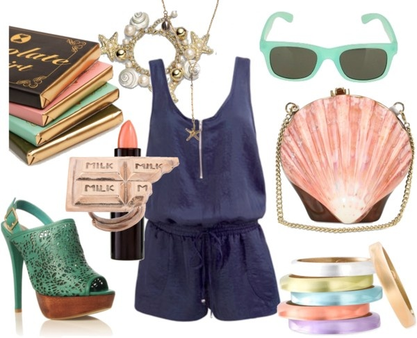 """Sea Shell Sea Shell.."" by alisinwonderland on Polyvore"