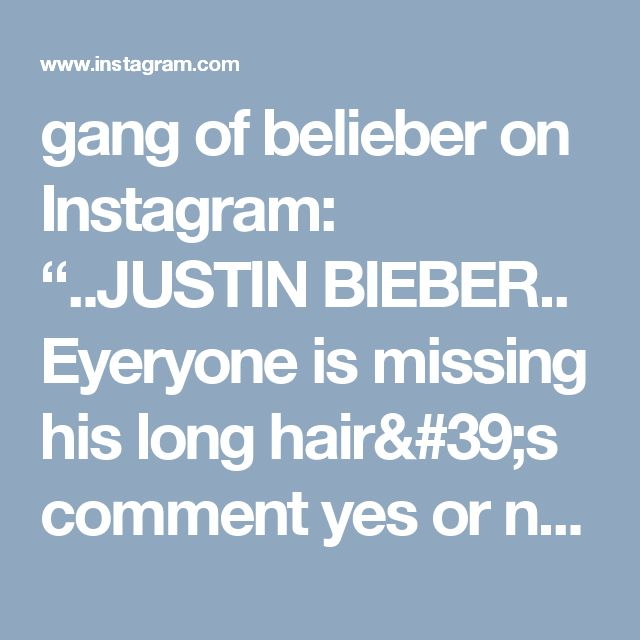 "gang of belieber on Instagram: ""..JUSTIN BIEBER.. Eyeryone is missing his long hair's comment yes or no @justinbieber #purposetour #promoter #belieberforever…"""