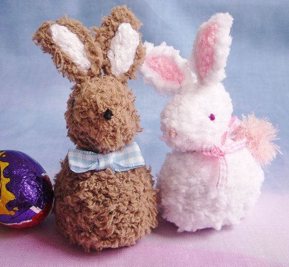 18 best knitting images on pinterest knitting stitches knit babs bobby bunny a pattern devised by myself fits a standard cadburys crme negle Image collections