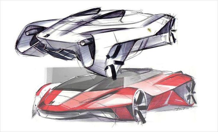 Autodesk Gallery Exhibits | Ferrari Of The Future