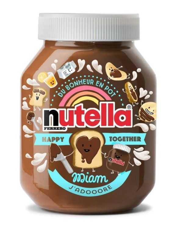 1000 ideas about nutella label on birthday themed food and