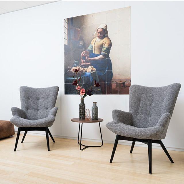 Relaxed het weekend in met fauteuil Arne. #leenbakker #fauteuil #friyay #weekend #relaxtime #interieur #retro