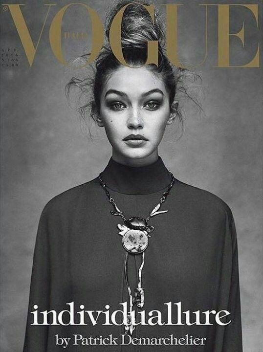 Vogue Itália - Abril 2016 (Gigi Hadid)