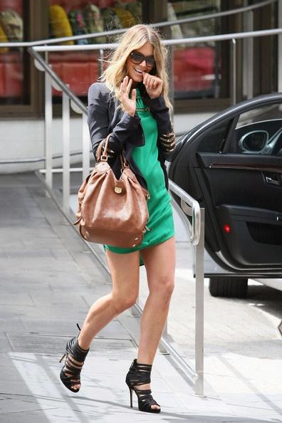 Jennifer Hawkins Photo - Jennifer Hawkin Leaves The Gazebo Hotel