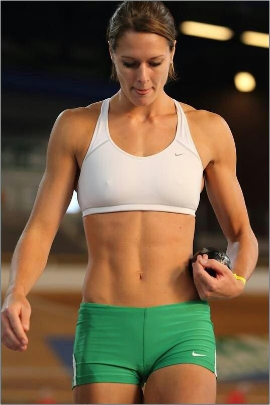 Girl abs hottest