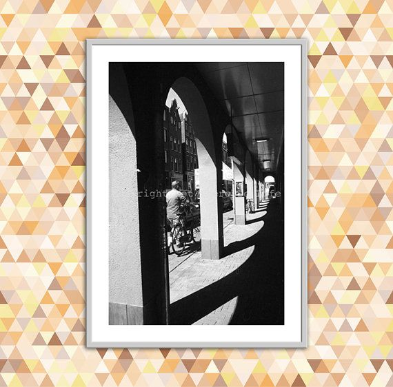 Modern Art Photograph Amsterdam Architecture by Lettherebelife