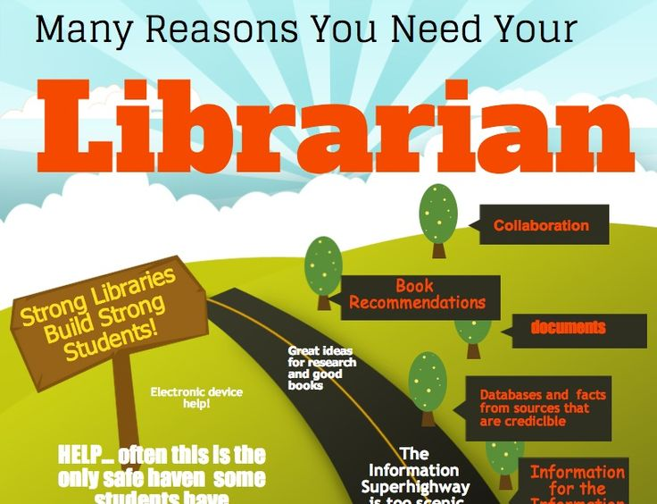 Reasons you need your librarian
