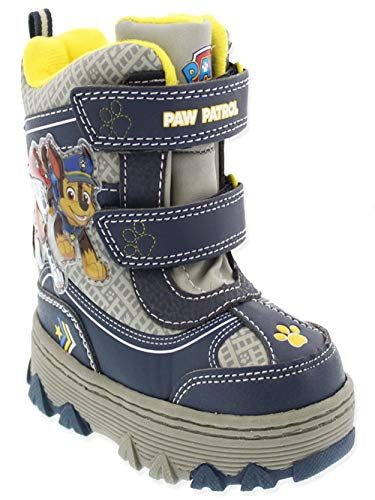 a3d1ba298eb6 Paw Patrol Child Marshall  amp  Chase Snow Boot Size 12 Josmo https