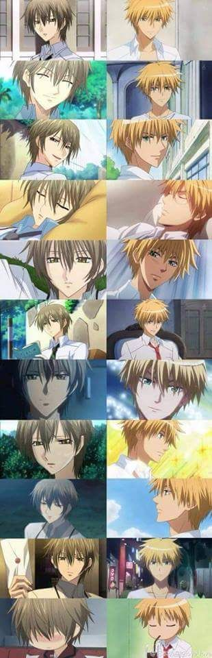 Kei Takishima from Special A and Usui Takumi from Kaichou Wa Maid-Sama > My two heart throbs....♥ And they almost look alike...