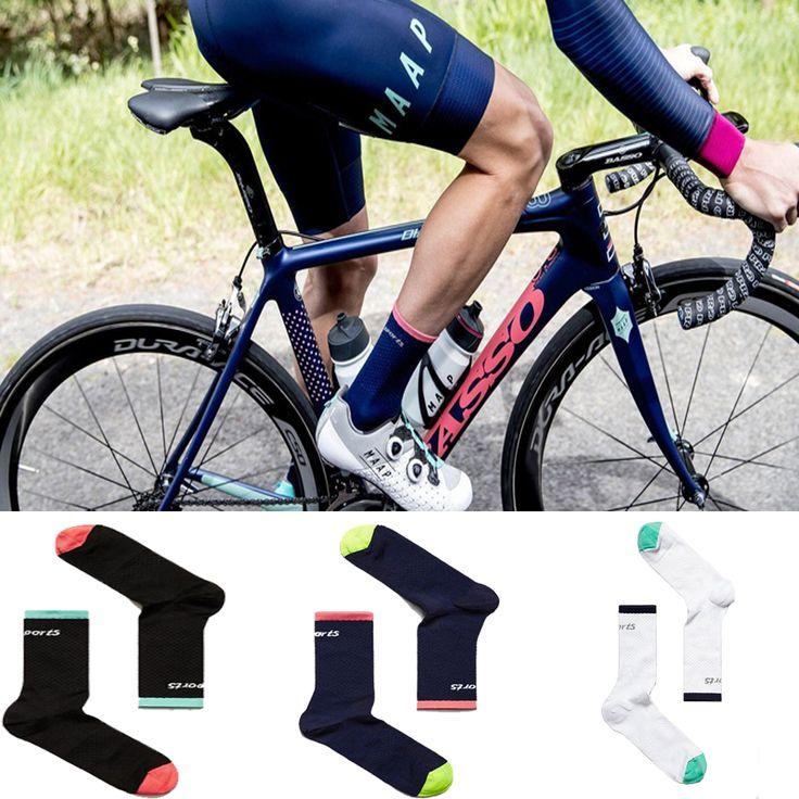 2017 New Cycling Socks Men Women Professional Breathable Sports Bike Socks //Price: $7.99 & FREE Shipping //     #hashtag1