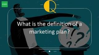 What Is The Definition Of A Marketing Plan?