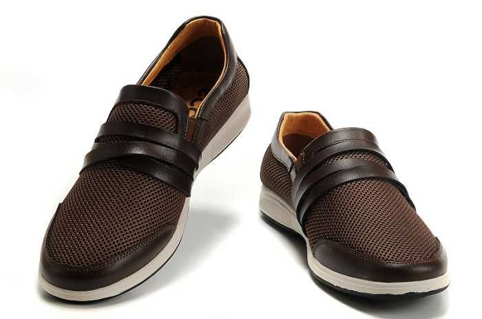 Brown Ecco Mens Casual Shoes On Designs Next Httpwww