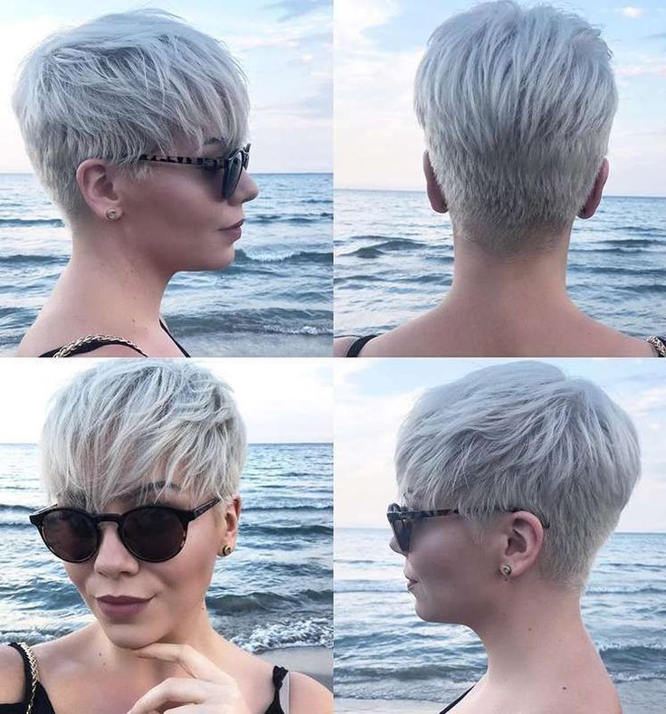 Fanny Rst Short Hairstyles - 1 #edgyshorthaircuts