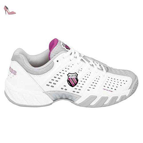 K-Swiss Bigshot Light, Chaussures de tennis femme - Blanc (White/Gull