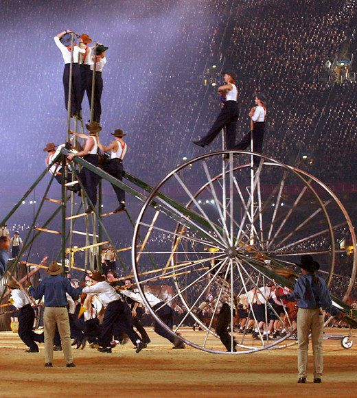 Olympic Games: Opening ceremonies throughout the years: 2000 Sydney, Australia v@e