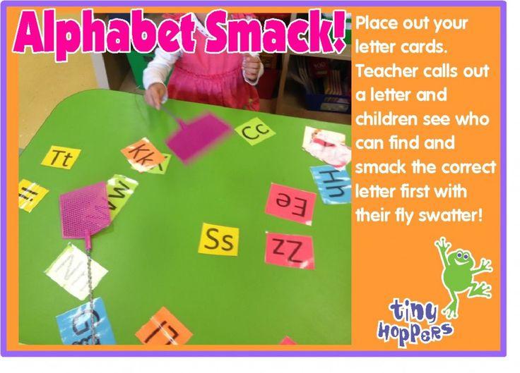 Alphabet Smack - Tiny Hoppers