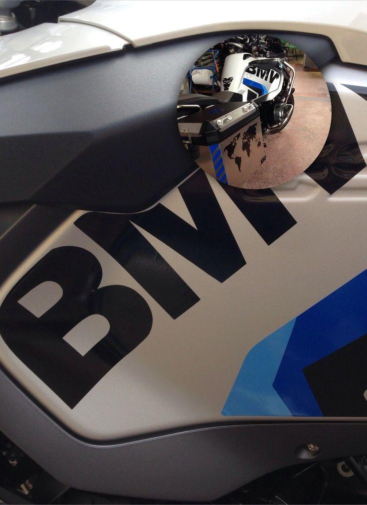 BMW R 1200 GS LC - ( SERBATOIO - TANK ) - adesivi / adhesives / stickers / decal in Motor: recambios y accesorios, Motos: accesorios, Pegatinas, vinilos y banderas, Pegatinas y calcomanías | eBay