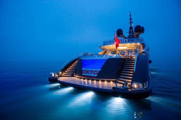 OKTO Yacht ouvert