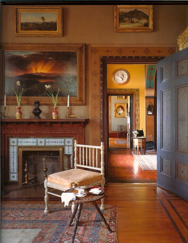 NOW AND THEN Historic Hudson Valley House Olana And The Persian Look
