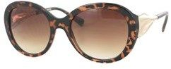 Kay Unger Tortoise With Gold, Gradient Brown Lens.