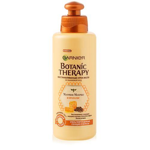Крем-масло для волос GARNIER BOTANIC THERAPY МАТОЧНОЕ МОЛОЧКО И ПРОПОЛИС восстанавливающее 200 мл