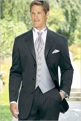 inspiration for the groom's attire