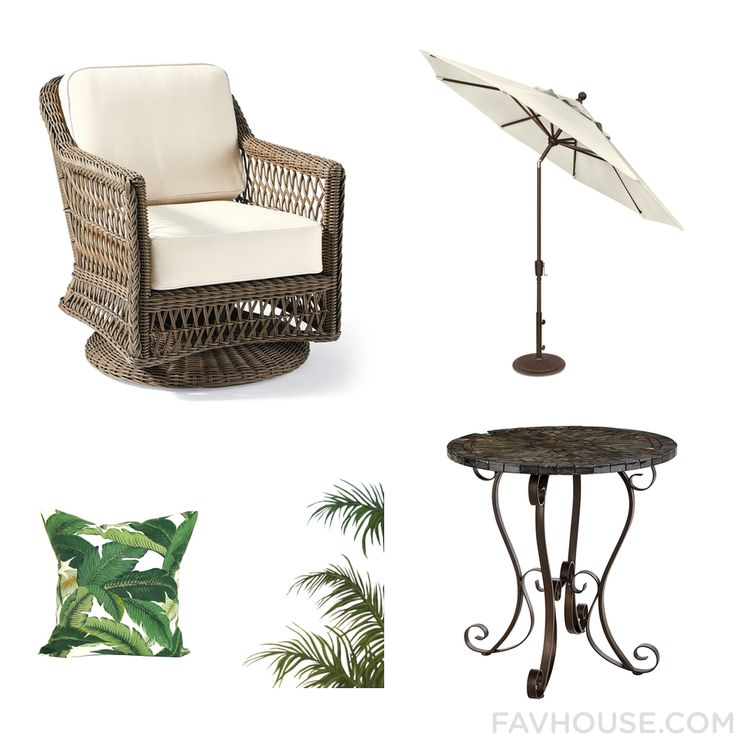 Room Tricks Featuring Patio Furniture Outdoor Umbrella Pier 1 Imports Outdoor Table And Outdoor Toss Pillow From September 2016 #home #decor