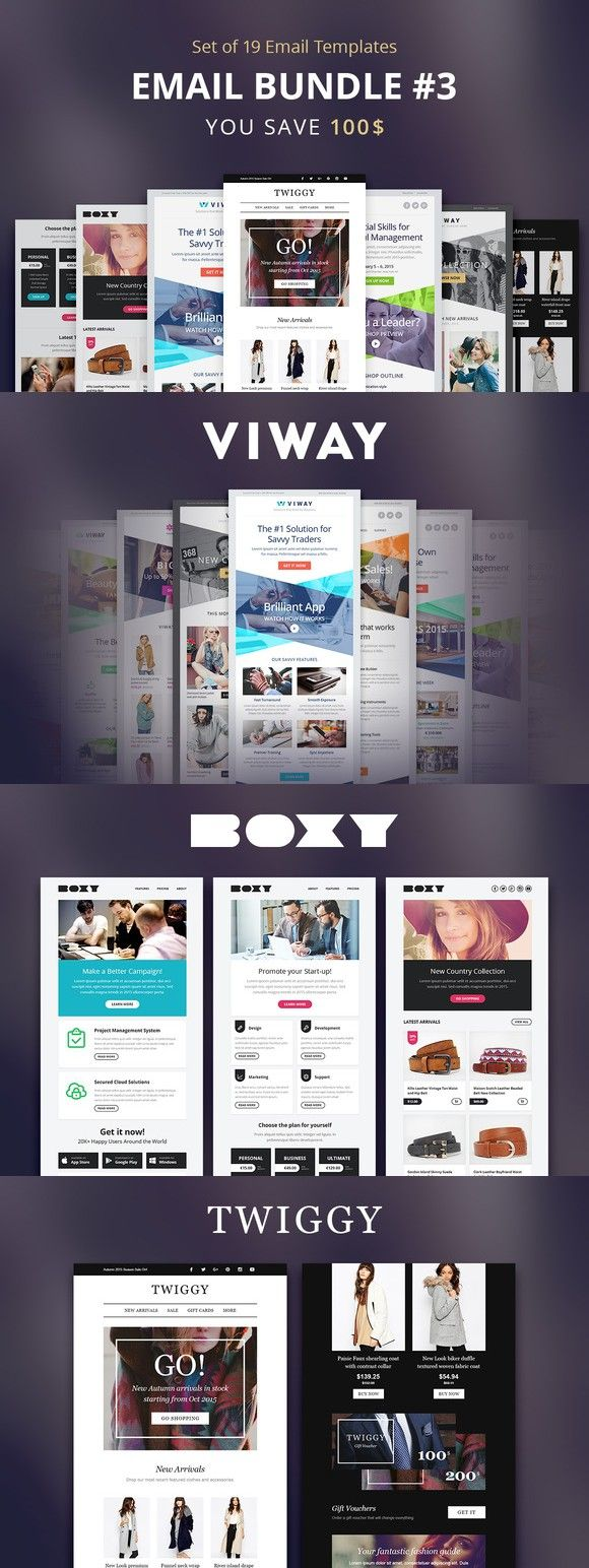 125 best Email Templates images on Pinterest | Email templates ...