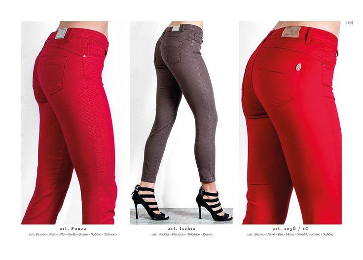 Collezione pantaloni Chiara Dalba  Spring Summer 2016 #denim #jeans #skinny #moda #donna #pantaloni #tapestry #tasche #elastici #luxury #catalogo #modelli #aderenti #rosso  Hai salvato su Spring Summer Collection 2016 CHIARA DALBA SS2016 COLLECTION #fashion #glamour #moda #donna #jeans #denim #skinny #jacket #pantaloni #fresh #shirt #estate #2016 #madeinitaly #luxury #pantaloni #maglia #blusa #taglie #comode #female #shopping #colori