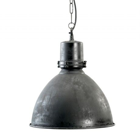 Nordal Industrie Hängelampe Iron schwarz