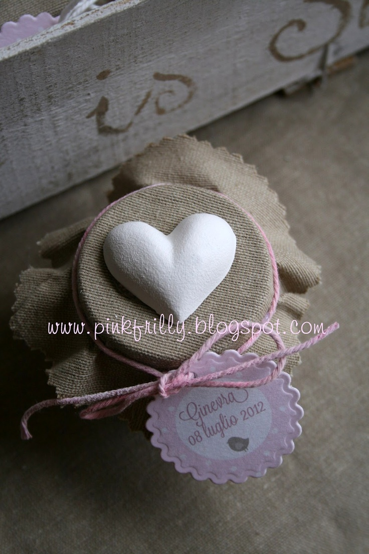 Pink Frilly: Battesimo Ginevra