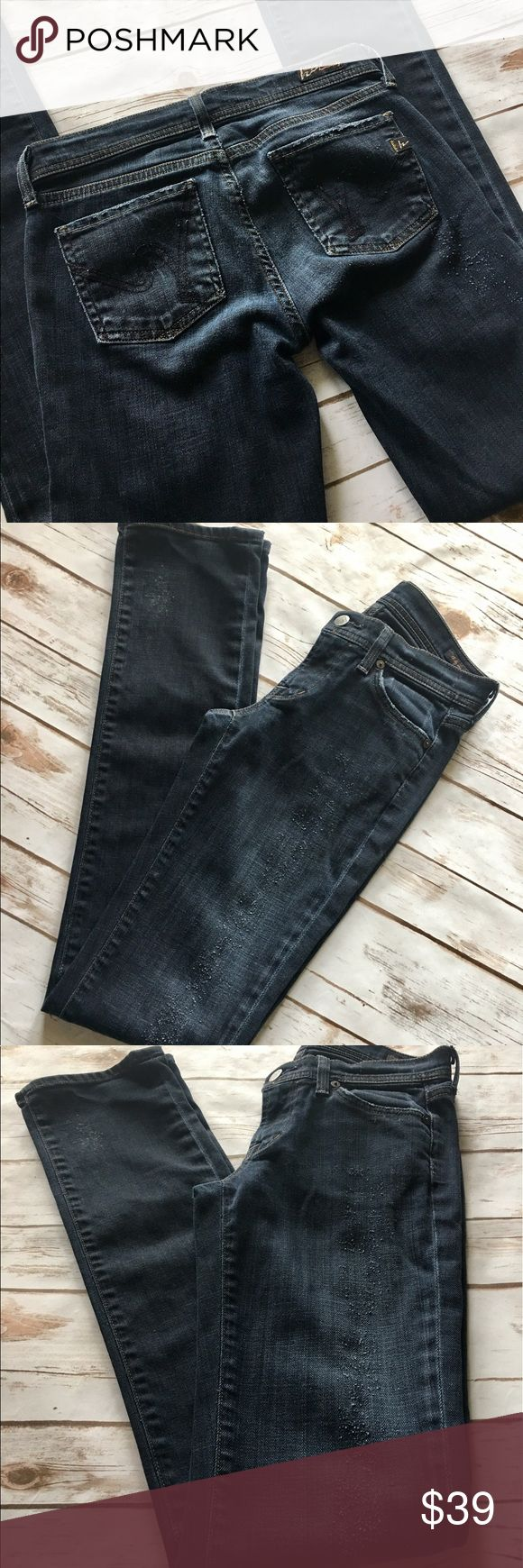 "✨Sale✨Citizens of Humanity-Lava Ava Stretch Jeans Citizens of Humanity-Lava Ava Stretch Jeans, low waist straight leg. Women's size 24. 32"" inseam. In fantastic preowned condition, jeans factory made with some intentional destruction. Please be sure to check out all of my other boutique items to bundle and save. Same day or next business day shipping is guaranteed. Reasonable offers will be considered! Citizens of Humanity Jeans Straight Leg"