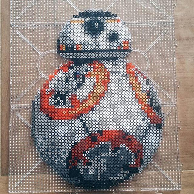 BB-8 - Star Wars VII hama beads by holmnielsen1989