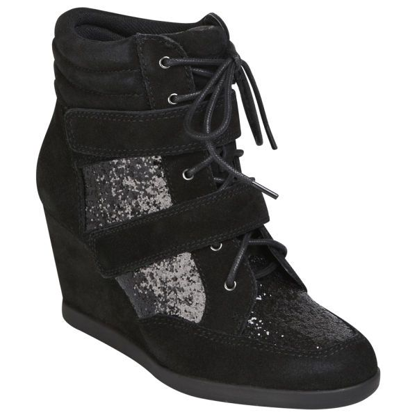 Wedged glitter goodness from Carvela: http://www.allsole.com/trainers-women/-footwear/carvela-women-s-sparkle-suede-wedged-hi-top-glitter-trainers-black/10863041.html?affil=thgsocial