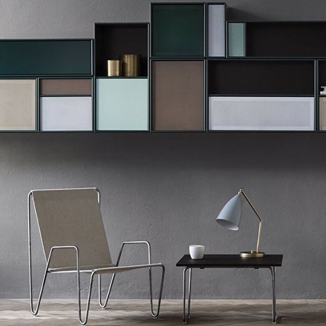 Extravagant storage by @illumsbolighus #montanafurniture #danishdesign #interiordesign #nordicstyle #scandinaviandesign #pantonchair #panton