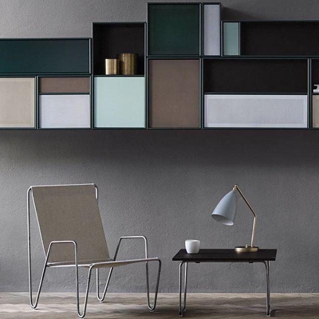Extravagant storage by @illumsbolighus #montanafurniture #danishdesign #interiordesign #nordicstyle #scandinaviandesign #pantonchair #panton