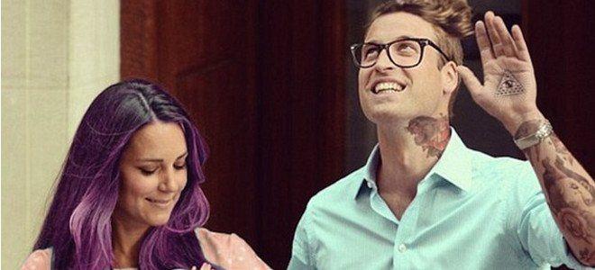 Η Κέιτ Μίντλετον με μωβ μαλλιά, γεμάτη τατουάζ και άλλοι 9 διάσημοι γίνονται χίπστερ [εικόνες]