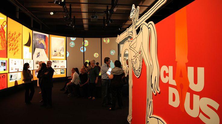Exposição Claudius: Quixote do Humor | SuperUber